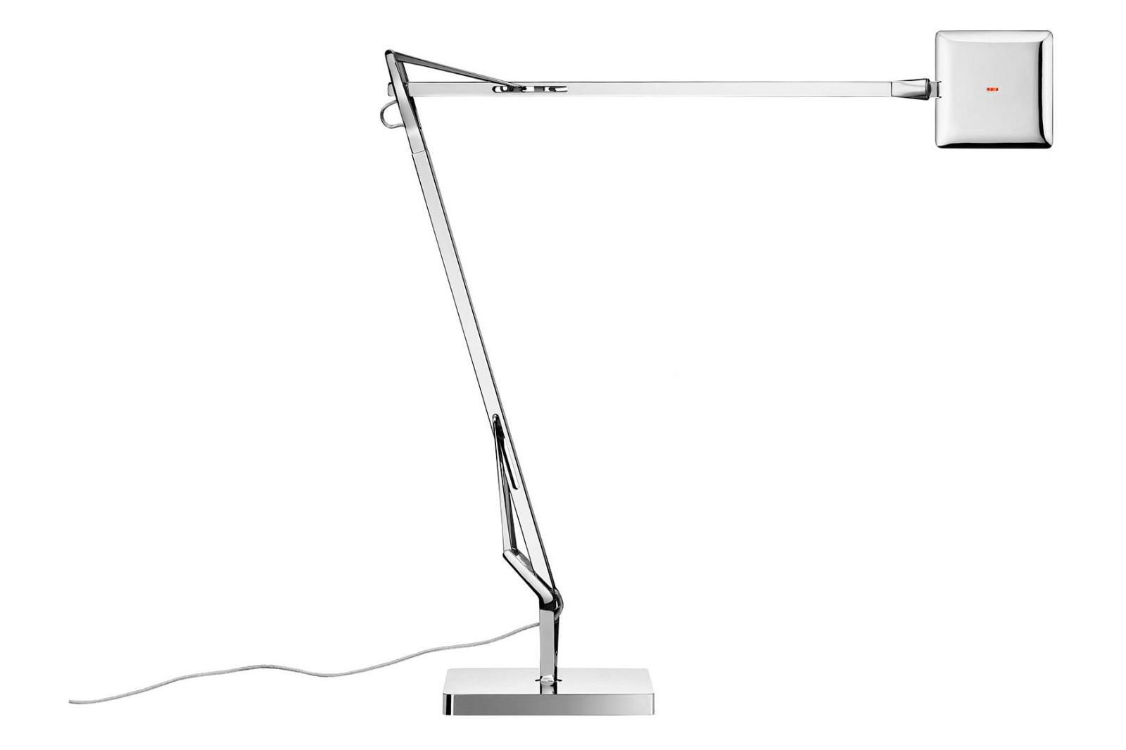 Kelvin Edge Desk Lamp Metal Chrome