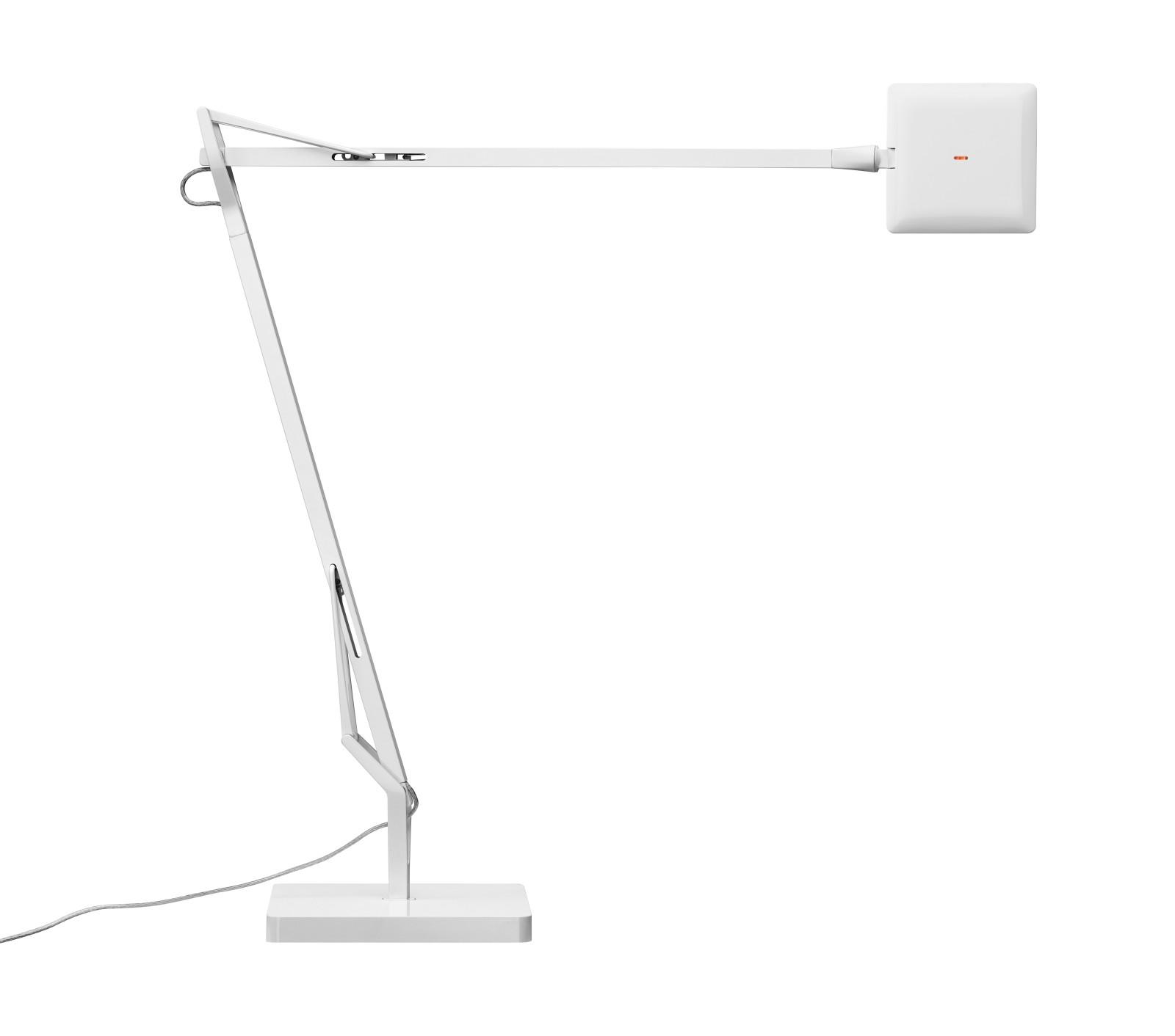 Kelvin Edge Table Lamp White