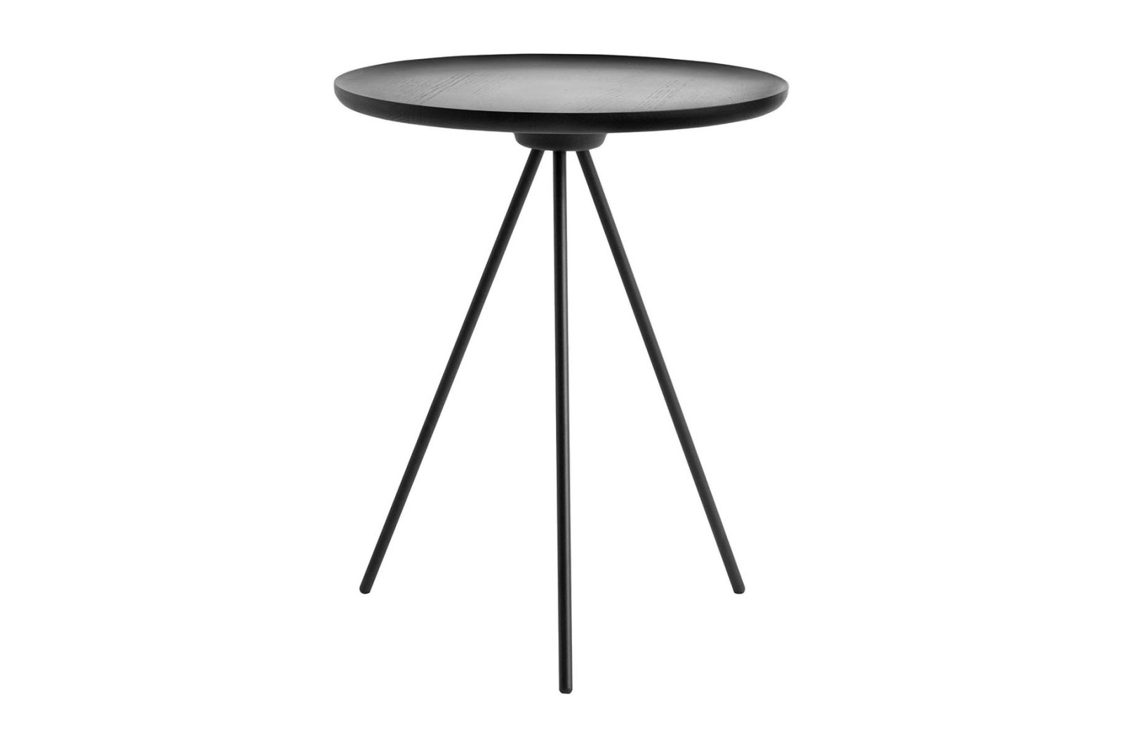 Key Side Table Black ash / Black