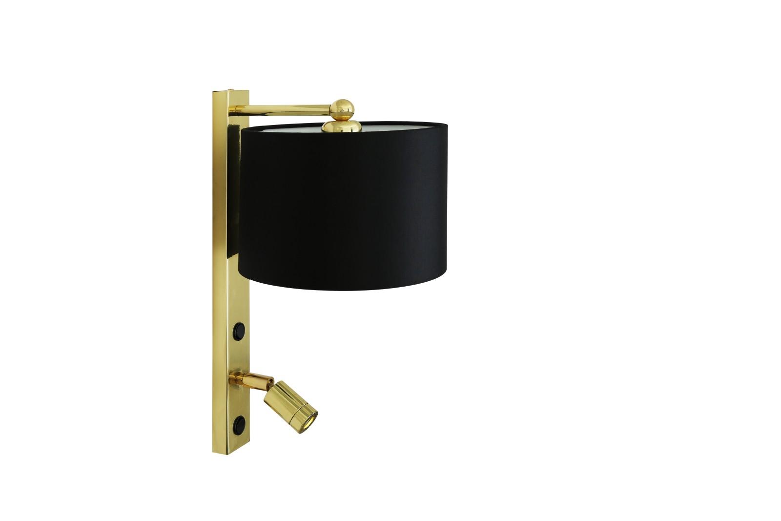 Khumo Wall Light Polished Brass
