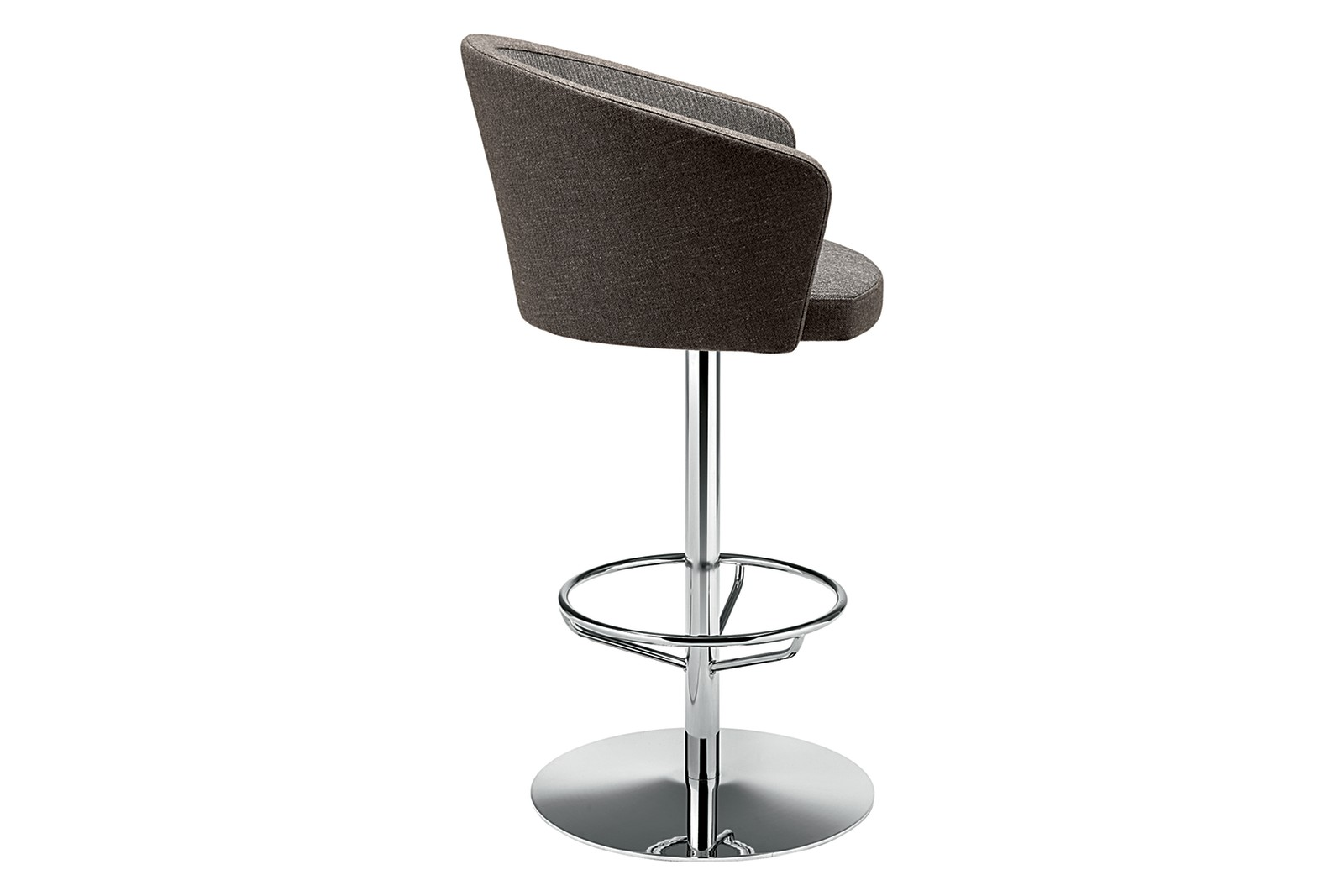 Kicca 320 Swivel Barstool Single Colour Pricegrp. Cat.a, CR Chrome