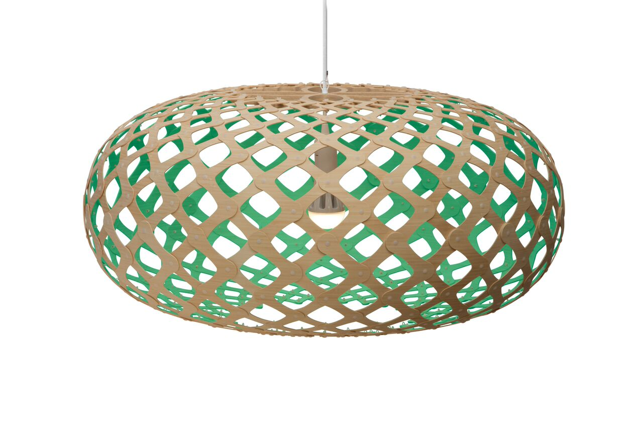 Kina Pendant Light Aqua, 100