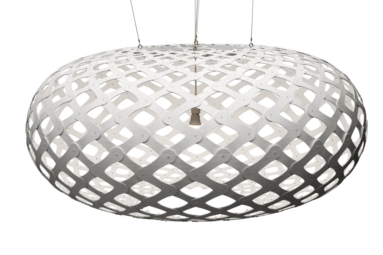 Kina Pendant Light White 2 Sides, 140