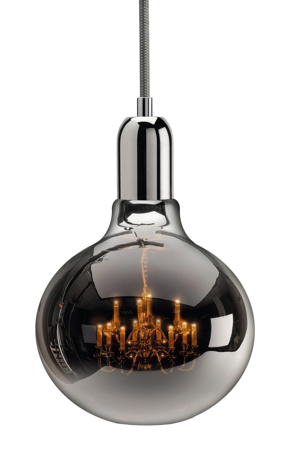 King Edison Pendant Lamps King Edison Chrome Pendant Lamp