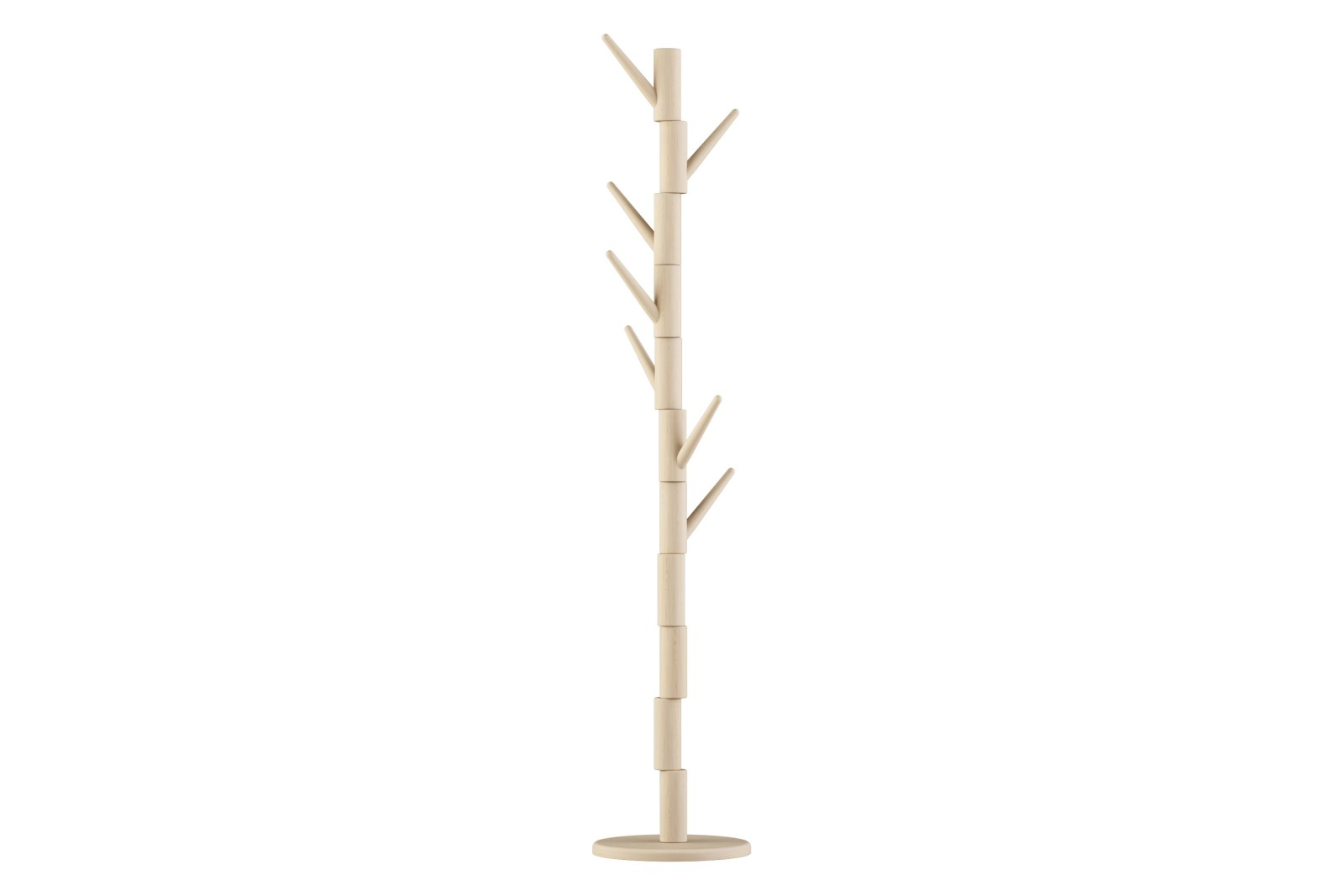Klods Hans Coatrack Wooden Foot Solid Birch, Beech