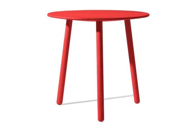 Knock On Wood Stool/Table Black Lacquered