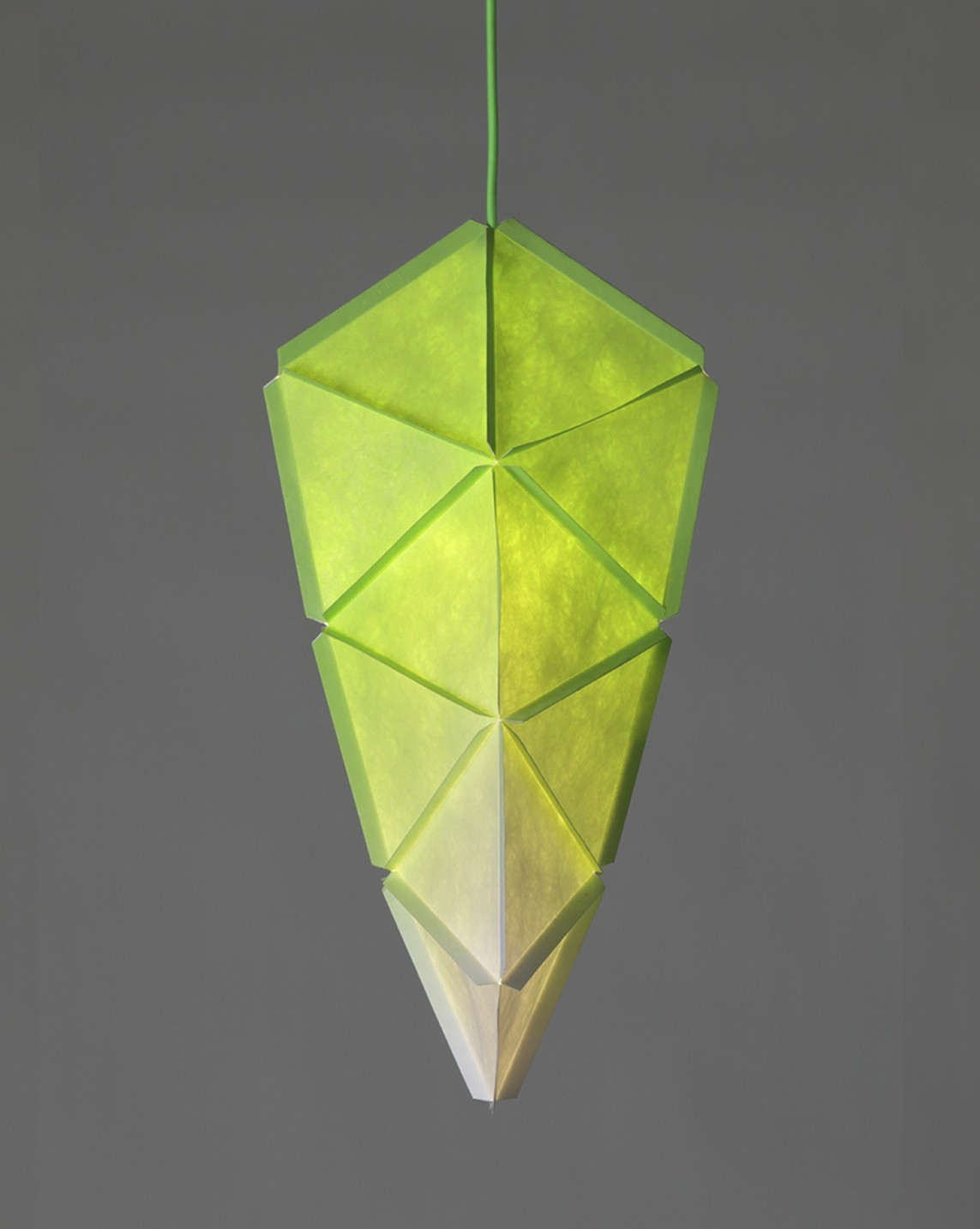 Kogi Pendant Light Green with Green Cable