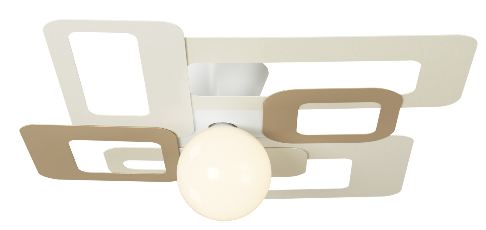 KUADRA Ceiling Light 173/74 milk and honey