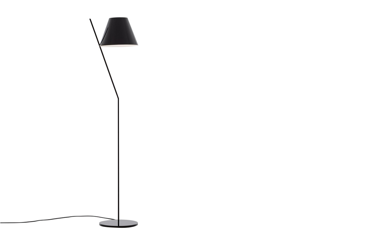 La Petite Floor Lamp Black
