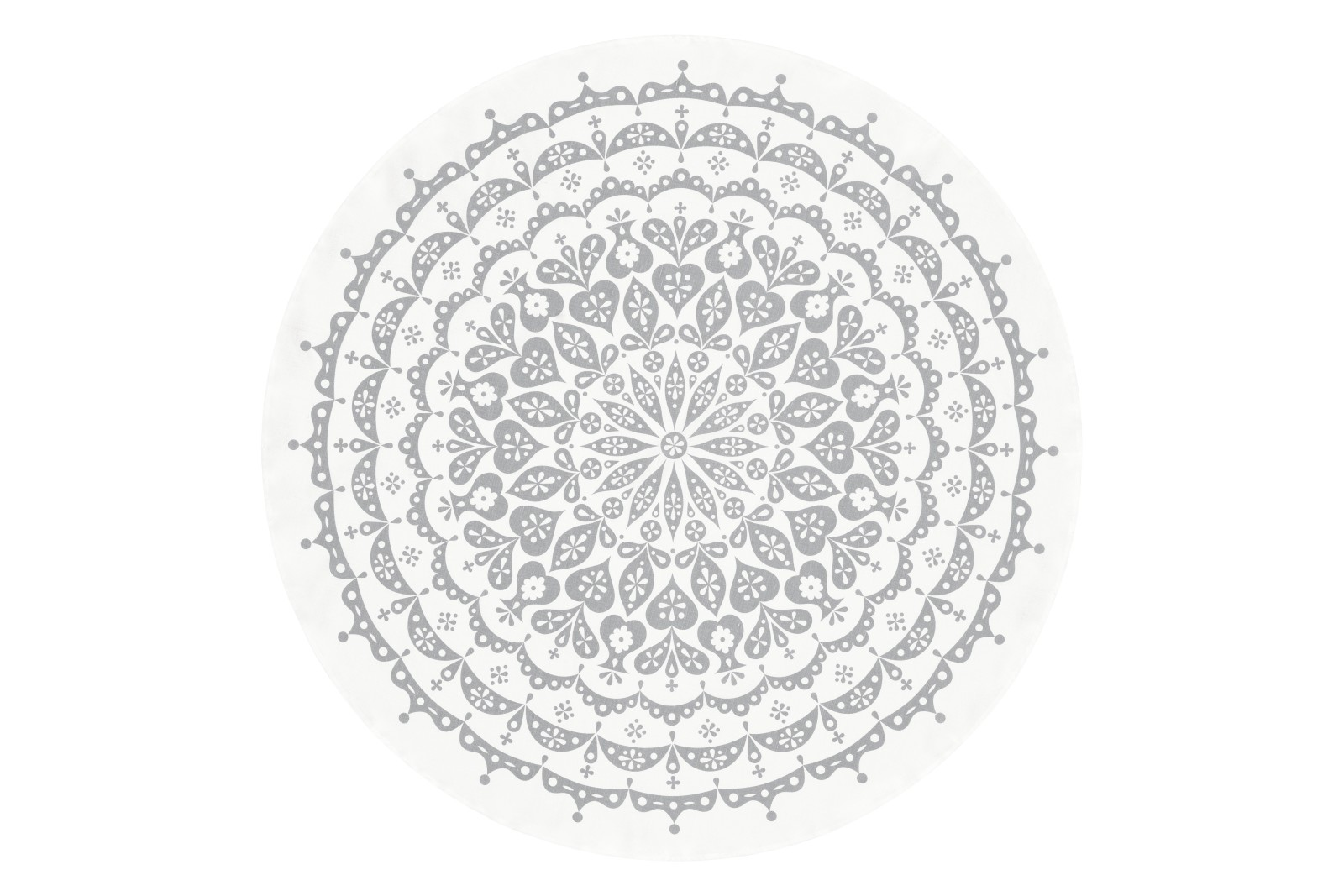 Lace Tablecloth Grey