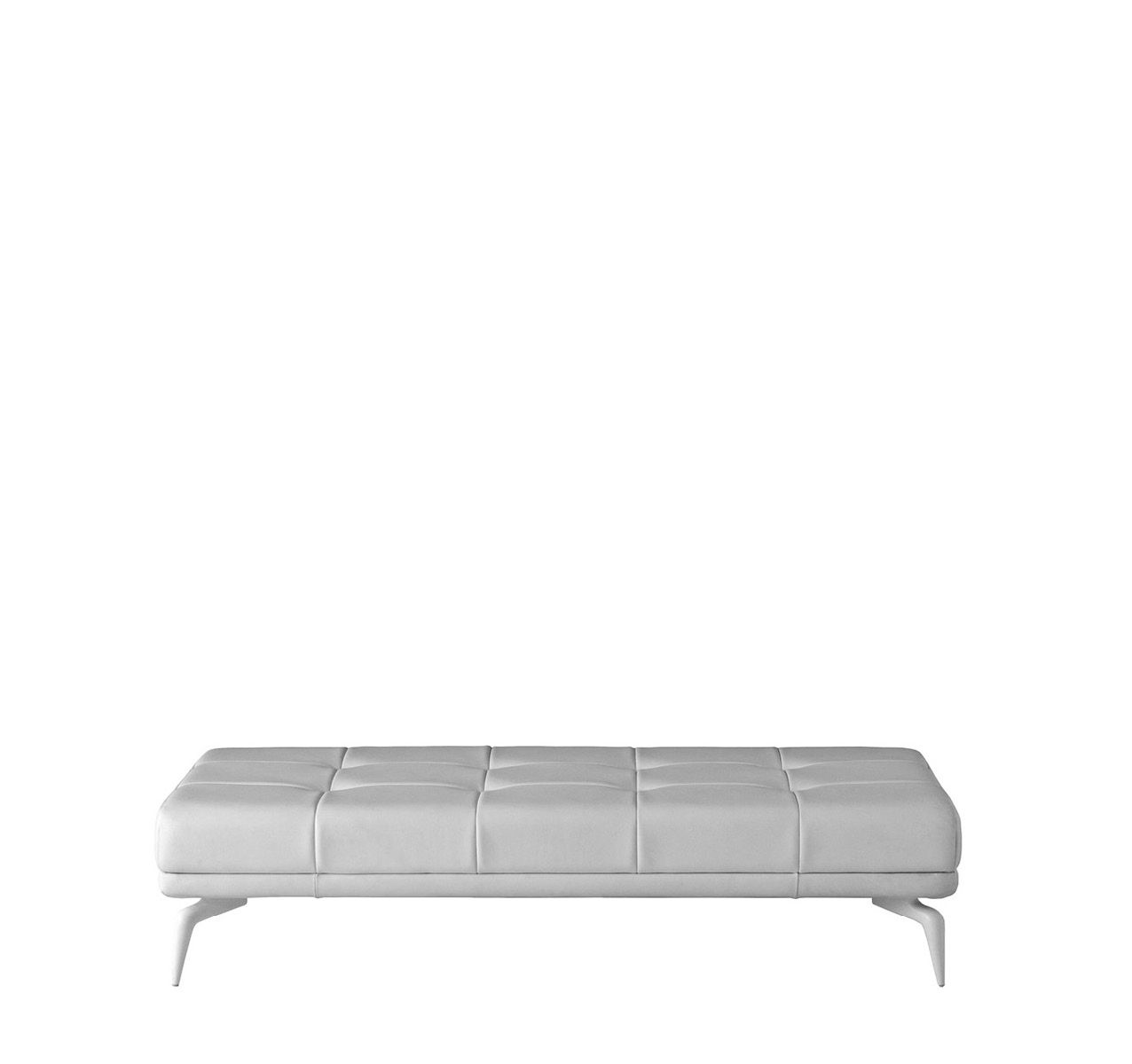 Leeon Bench Cairo - Bianco 01