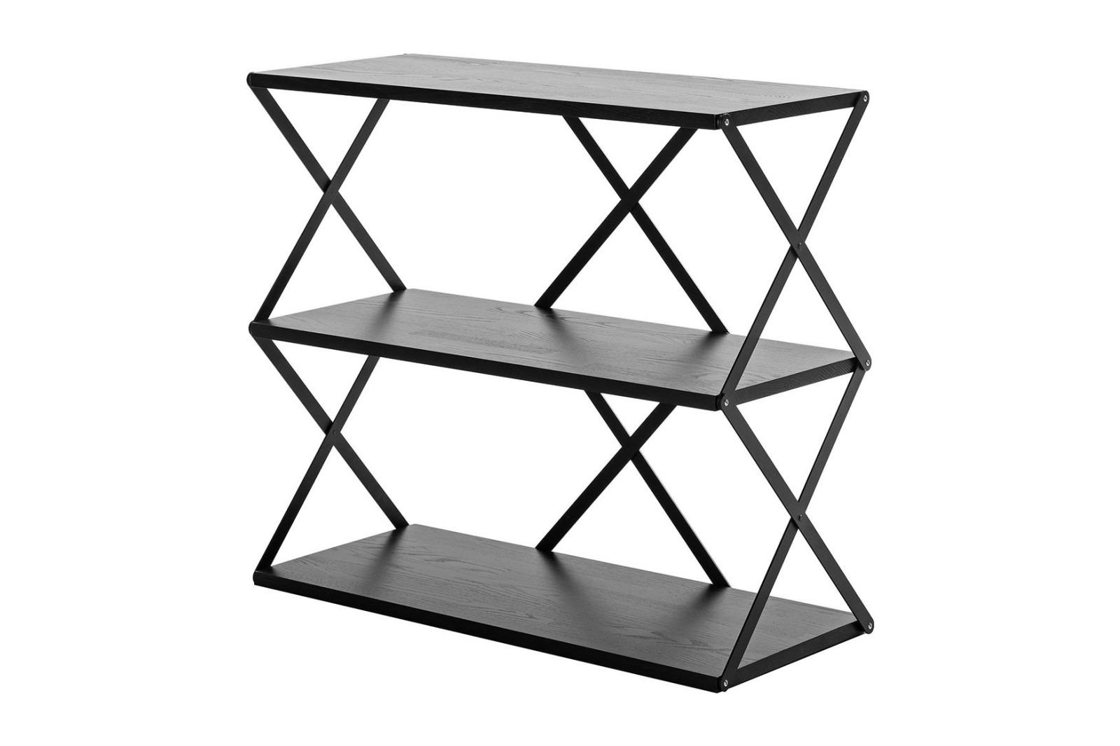 Lift 3 Wall Shelf Black