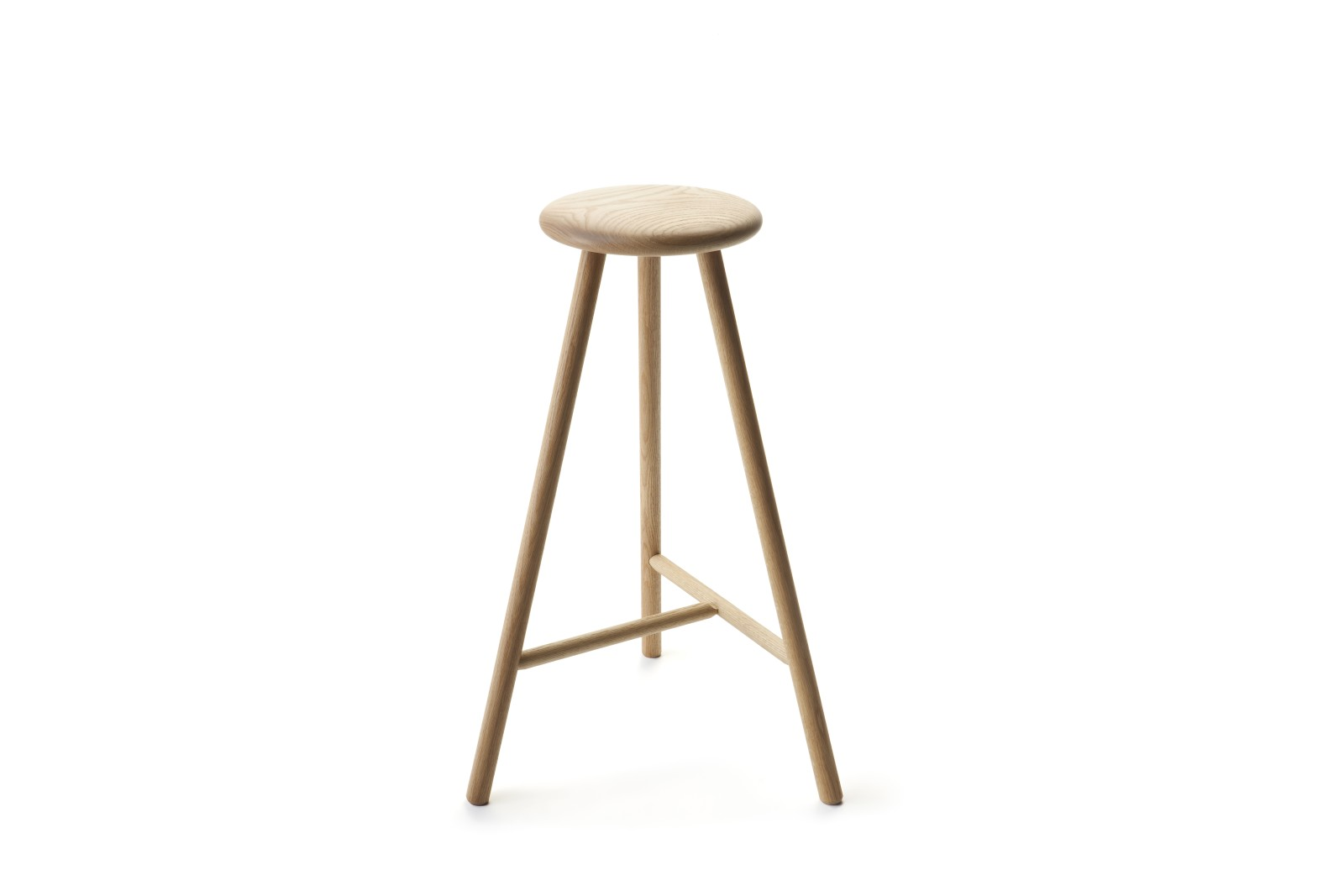 Linea Perch Bar Stool Oak Natural Oil