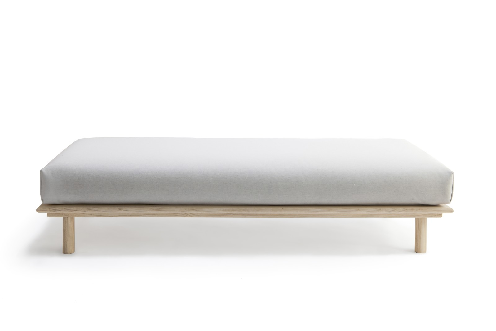 Linea Daybed Ash Natural Oil, Fabric 1 Roccia