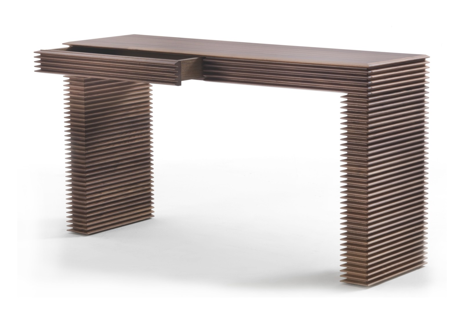Linka Console Table Canaletta Walnut