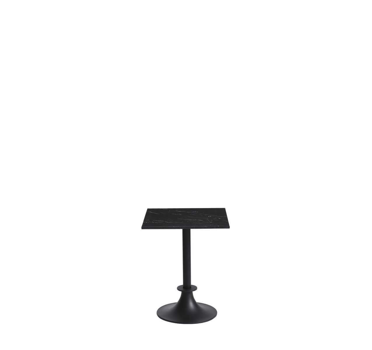 Lord Yi Square Table Black Marquina Marble, No