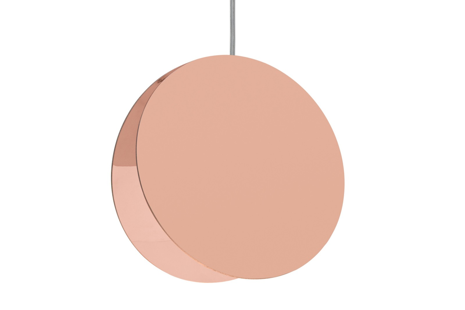 LT05 North Pendant Light Polished Copper, Large