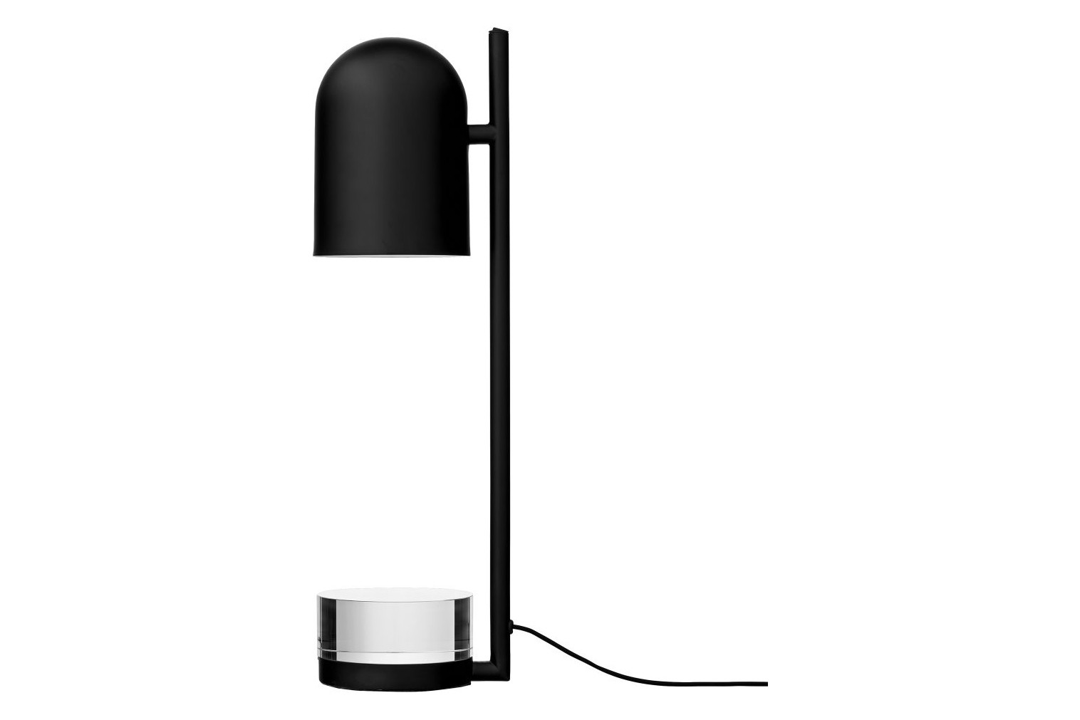 Luceo Table Lamp Black/Clear