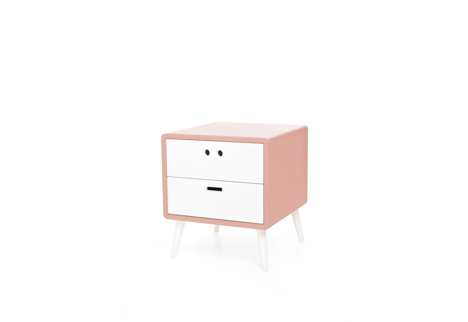 Mário Bedside Table Retro Pink
