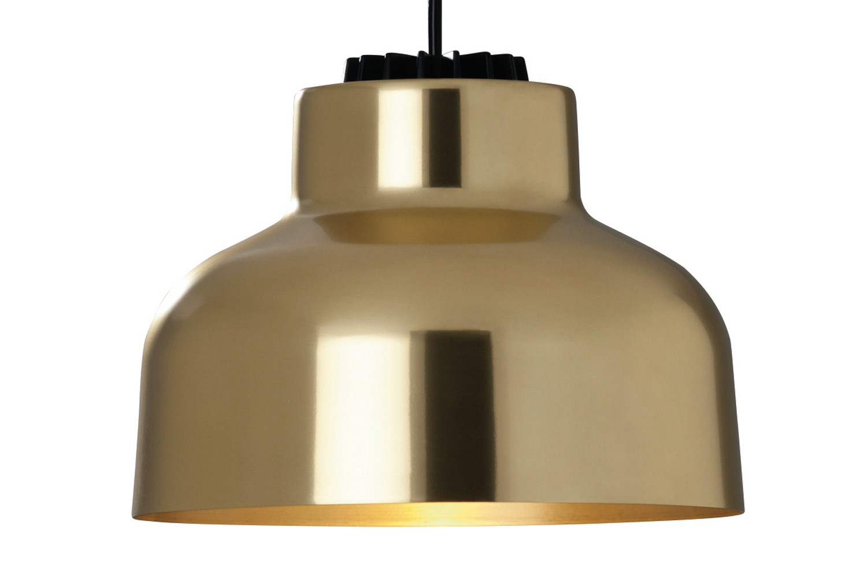 M64 Pendant Light White - Dimmable, Brass, 800