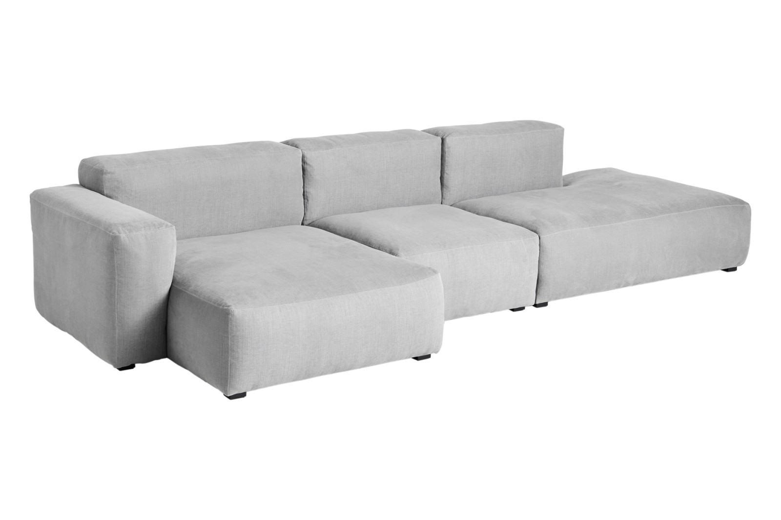 Mags Soft 3 Seater Sofa, Low Armrest - Combination 4 Fabric Group 1, Left