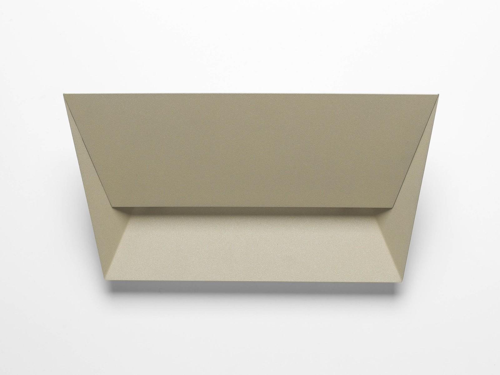 Mail Wall Light 115R Fine Textured Sand Grey, 34cm, LED