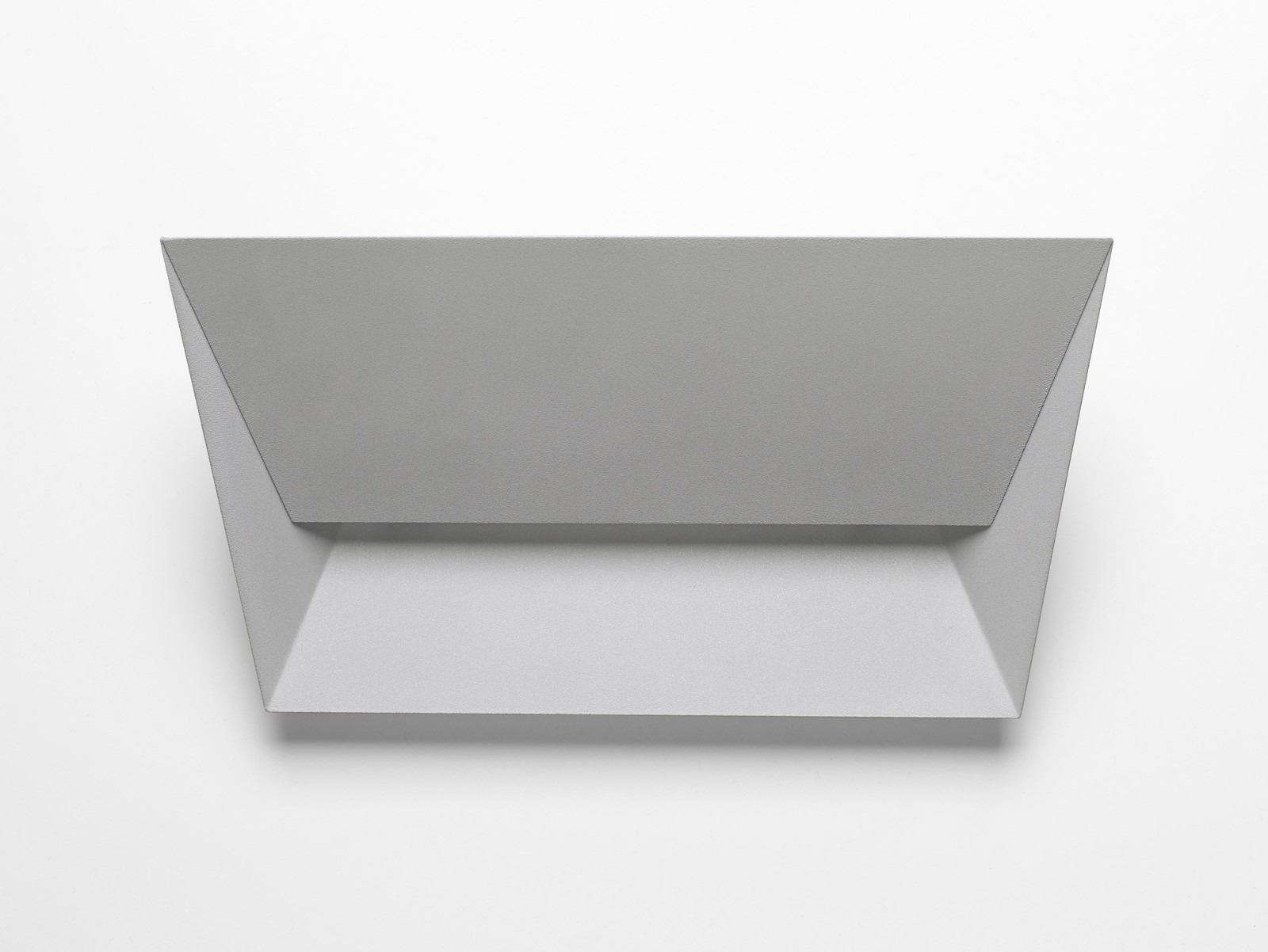 Mail Wall Light 123 Pearl Grey, 34cm, LED