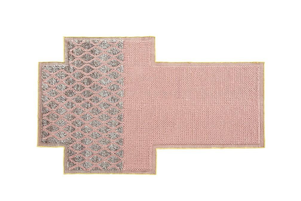 Mangas Space Rhombus Rug Pink, 160x250 cm