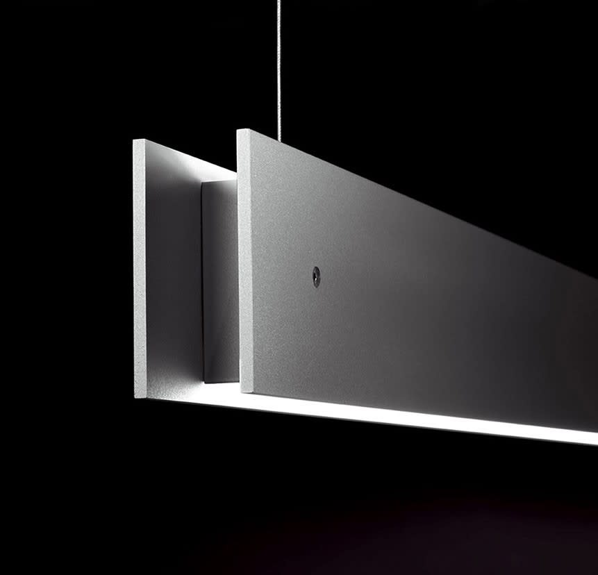 Marc Suspension Lamp Gray, 2L, LED, No, 160