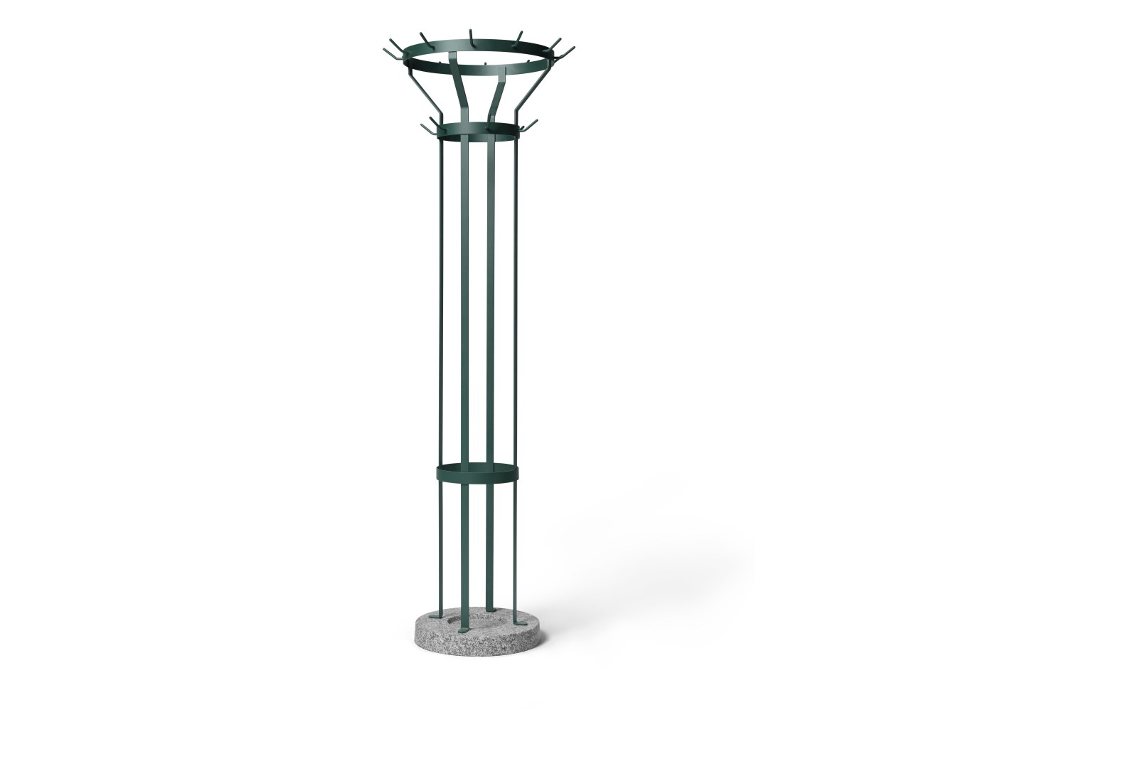 Marcel Coat Stand Blue Green RAL 6004