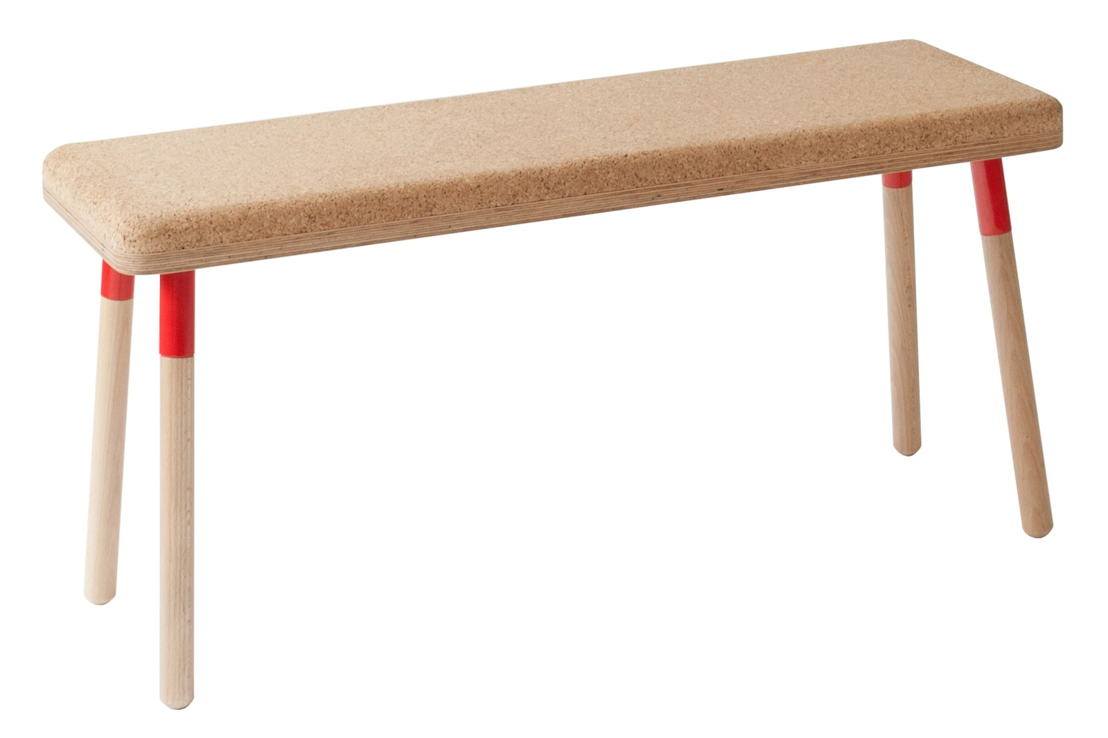 Marco Bench Marco Bench Red + Cork