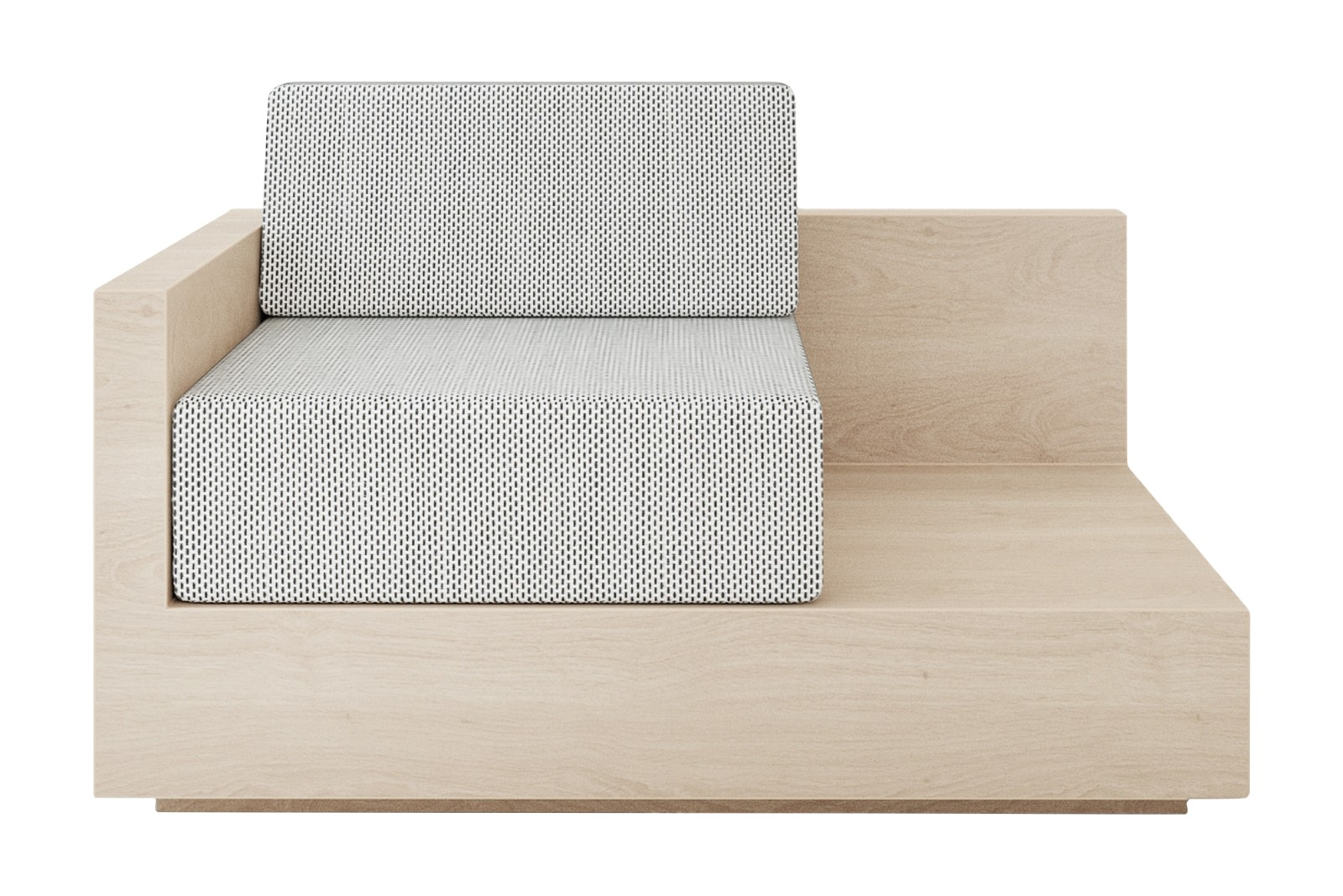 Mass Lounge Left Arm Sofa Natural ash, Remix 2 113
