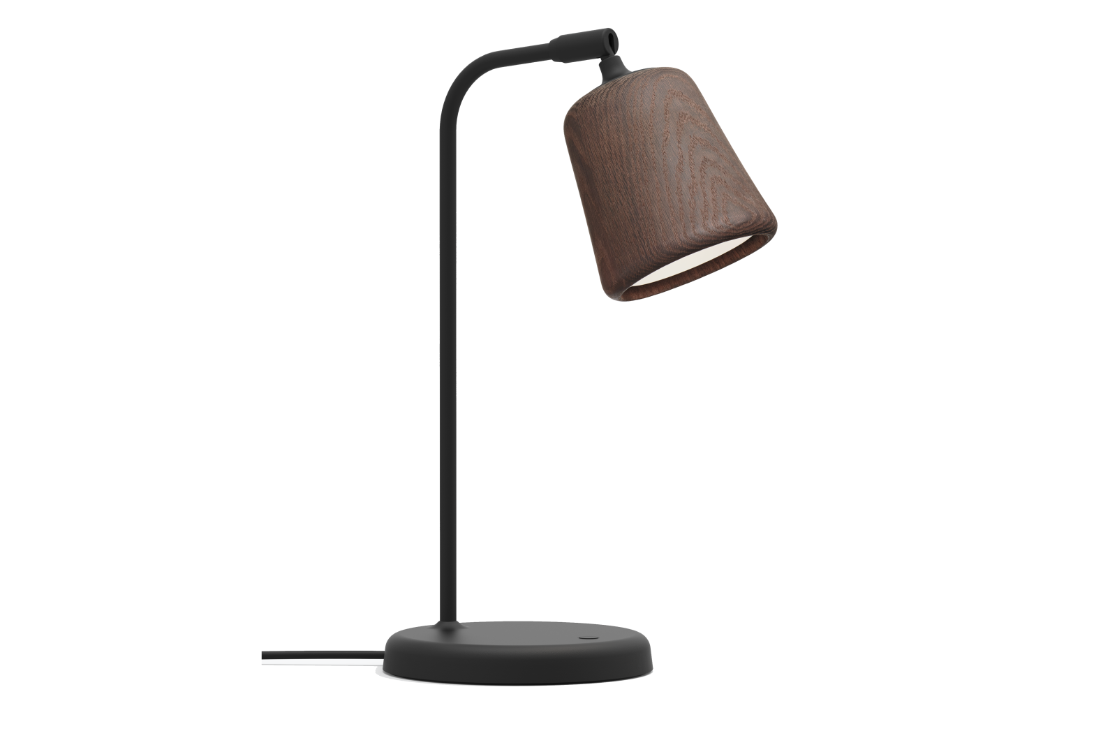 Material Table Lamp Smoked Oak