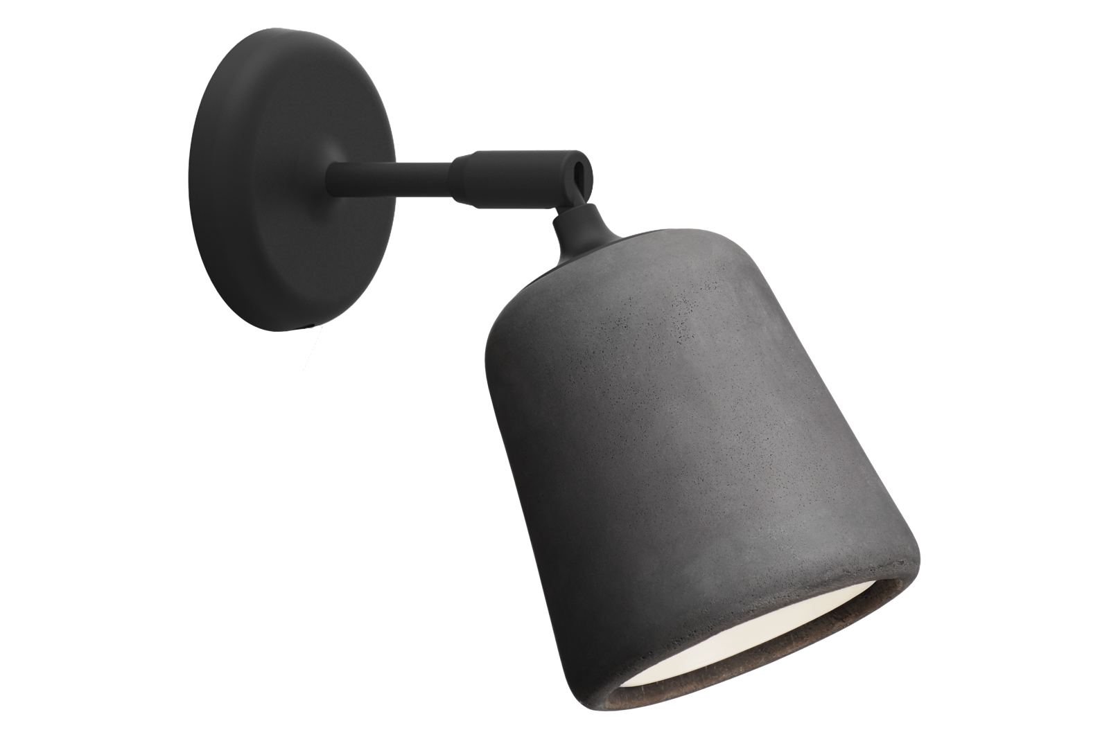 Material Wall Light Dark Grey Concrete