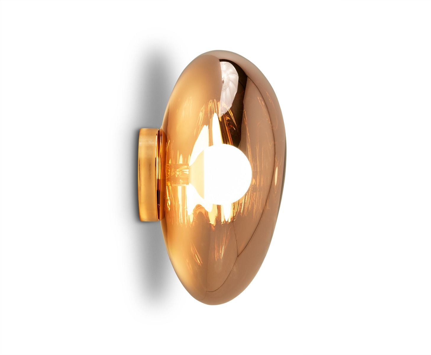 Melt Surface Wall Light Copper