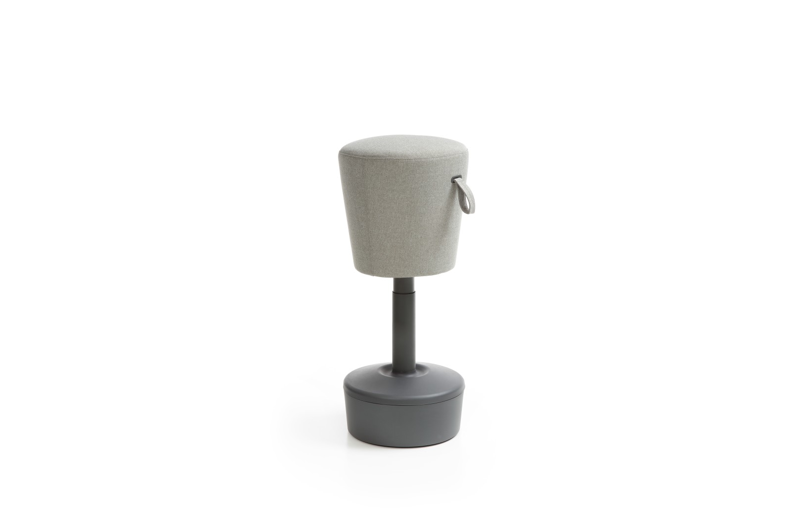 Mickey Stool - Plastic Side Grey base and side - group 1