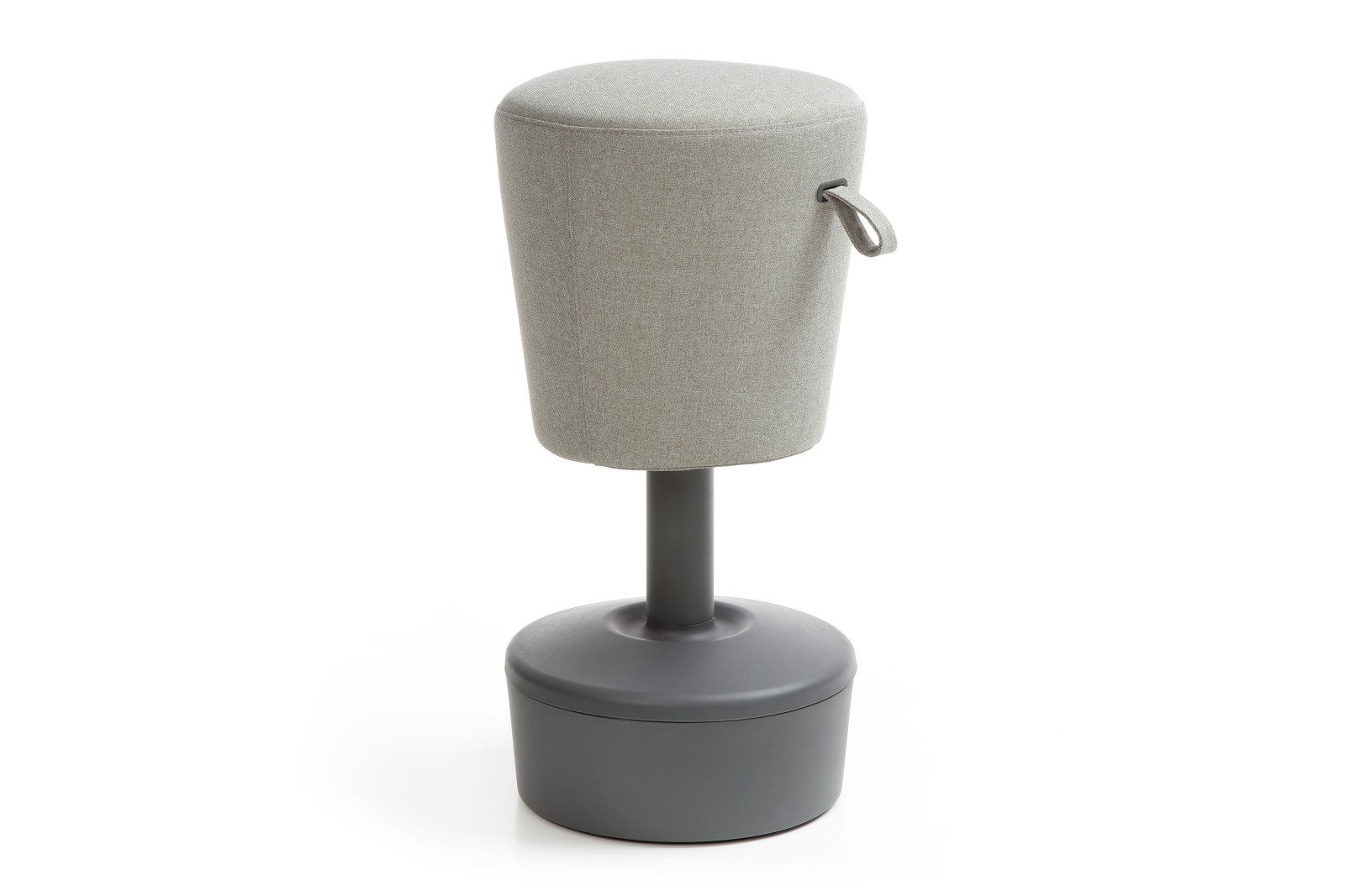 Mickey Stool - Plastic Side Grey base and side - group 2