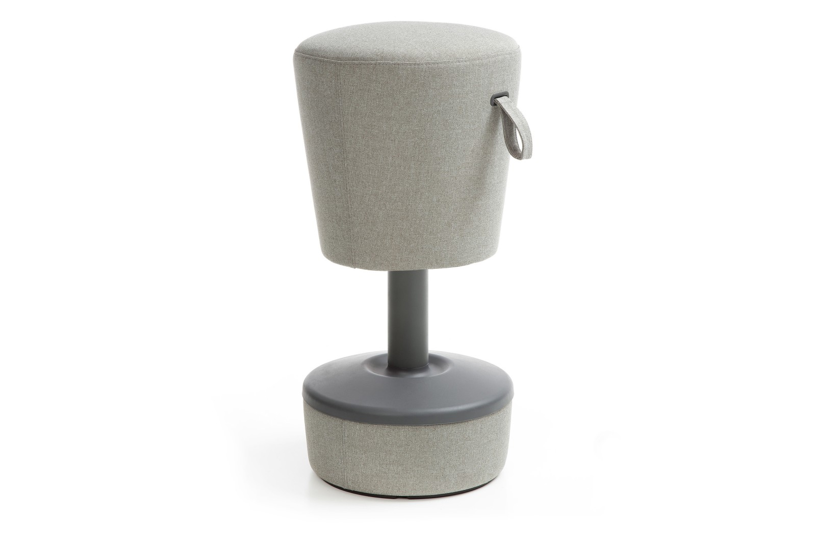Mickey Stool - Upholstered Side Grey Upholstered side - group 2