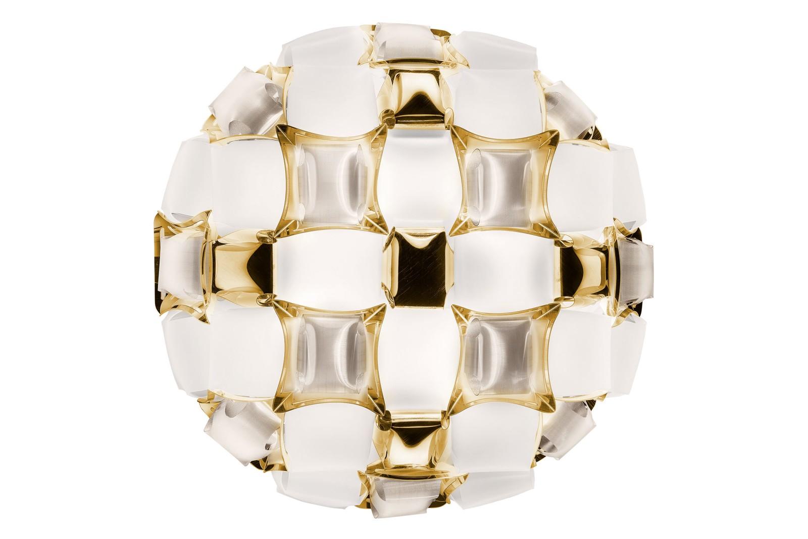 Mida Ceiling Light White Gold