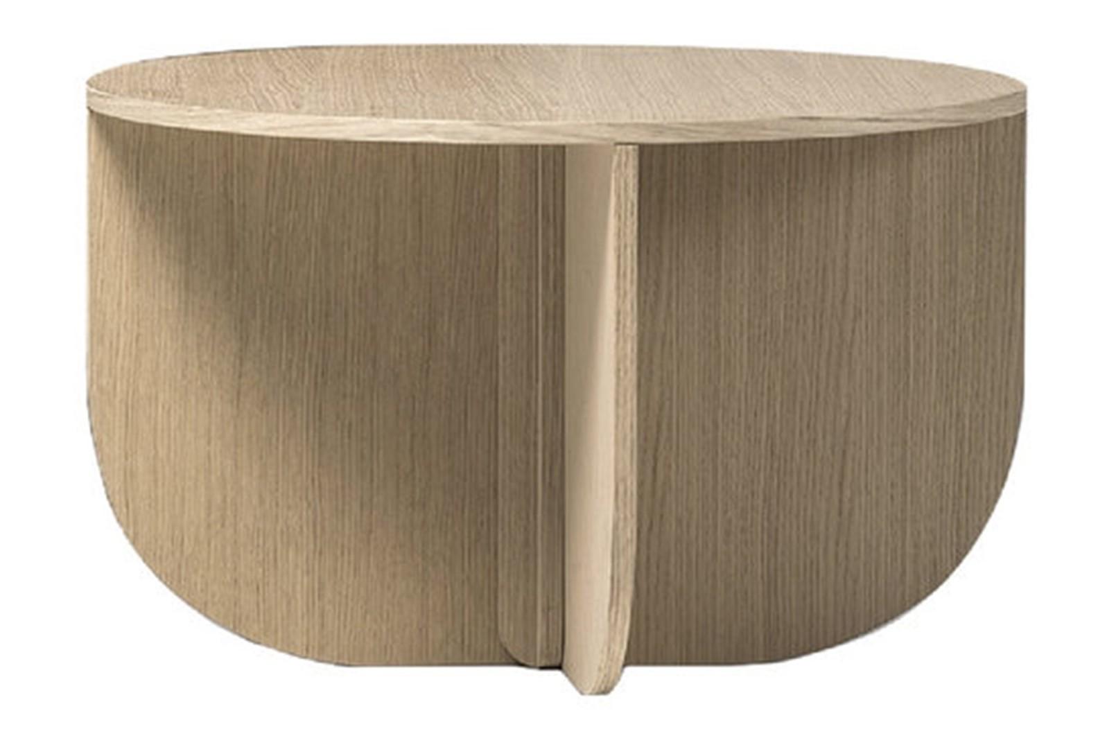 Mil Coffee Table Standard Natural Brushed Oak, Natural Brushed Oak, 75 x 44