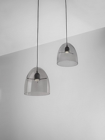 Minicentra S2 Pendant Light Grey, LED