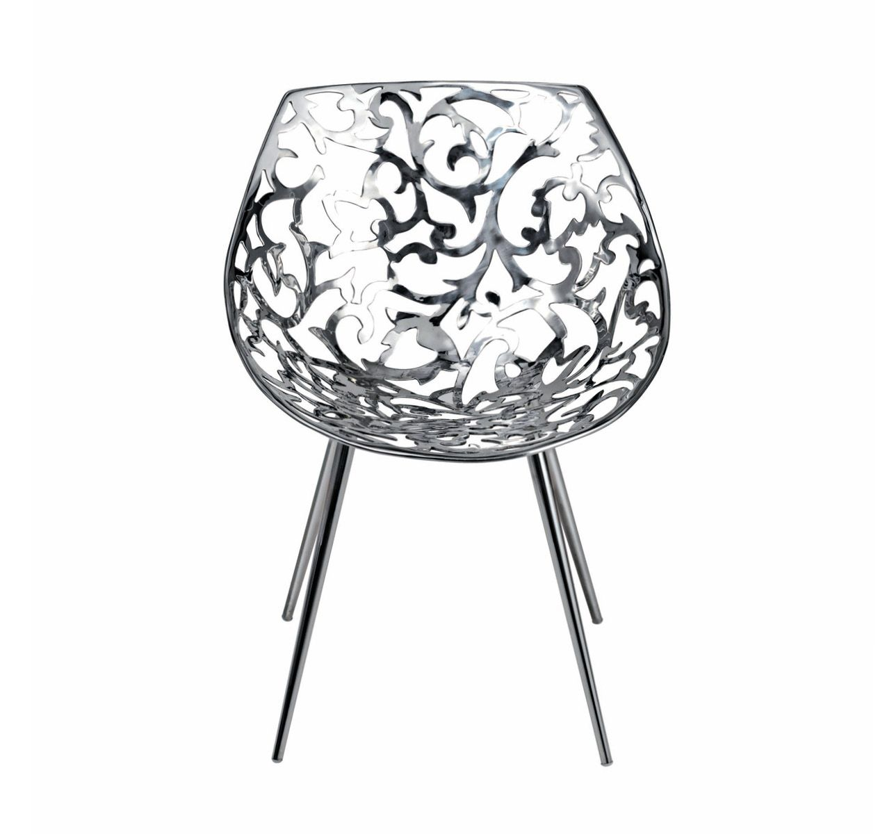 Miss Lacy - Chair Stainless Steel