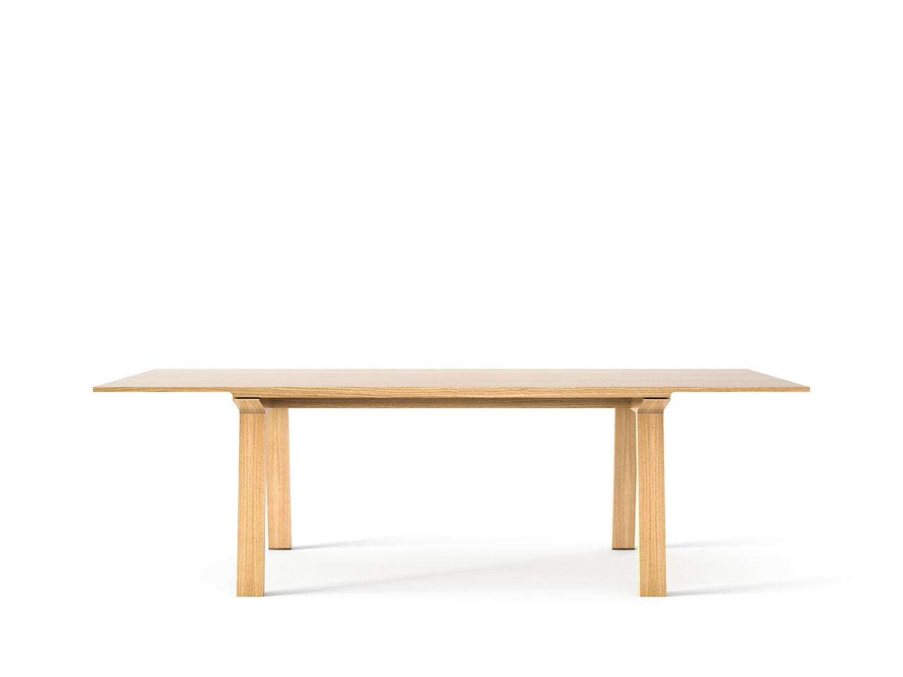 Mitis Dining Table, Rectangular Super-matt Oak, Super-matt Oak, 240cm