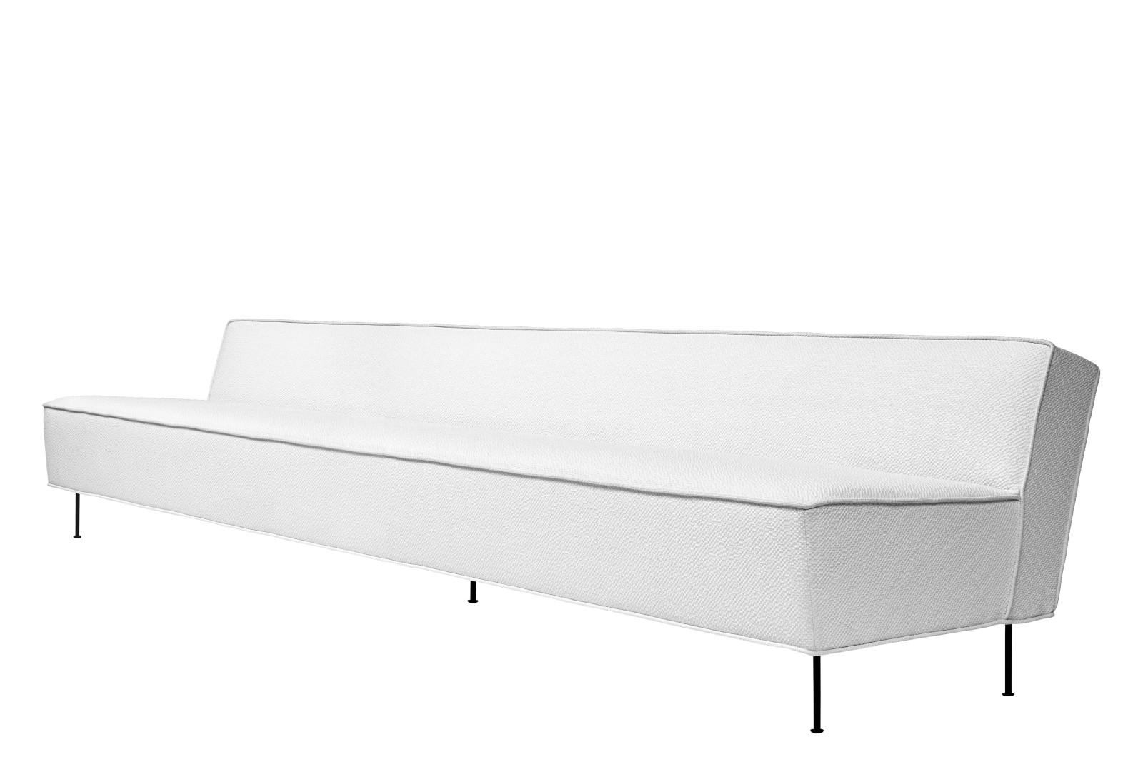 Modern Line Sofa 300, Gubi Metal Black, Price Grp. 04