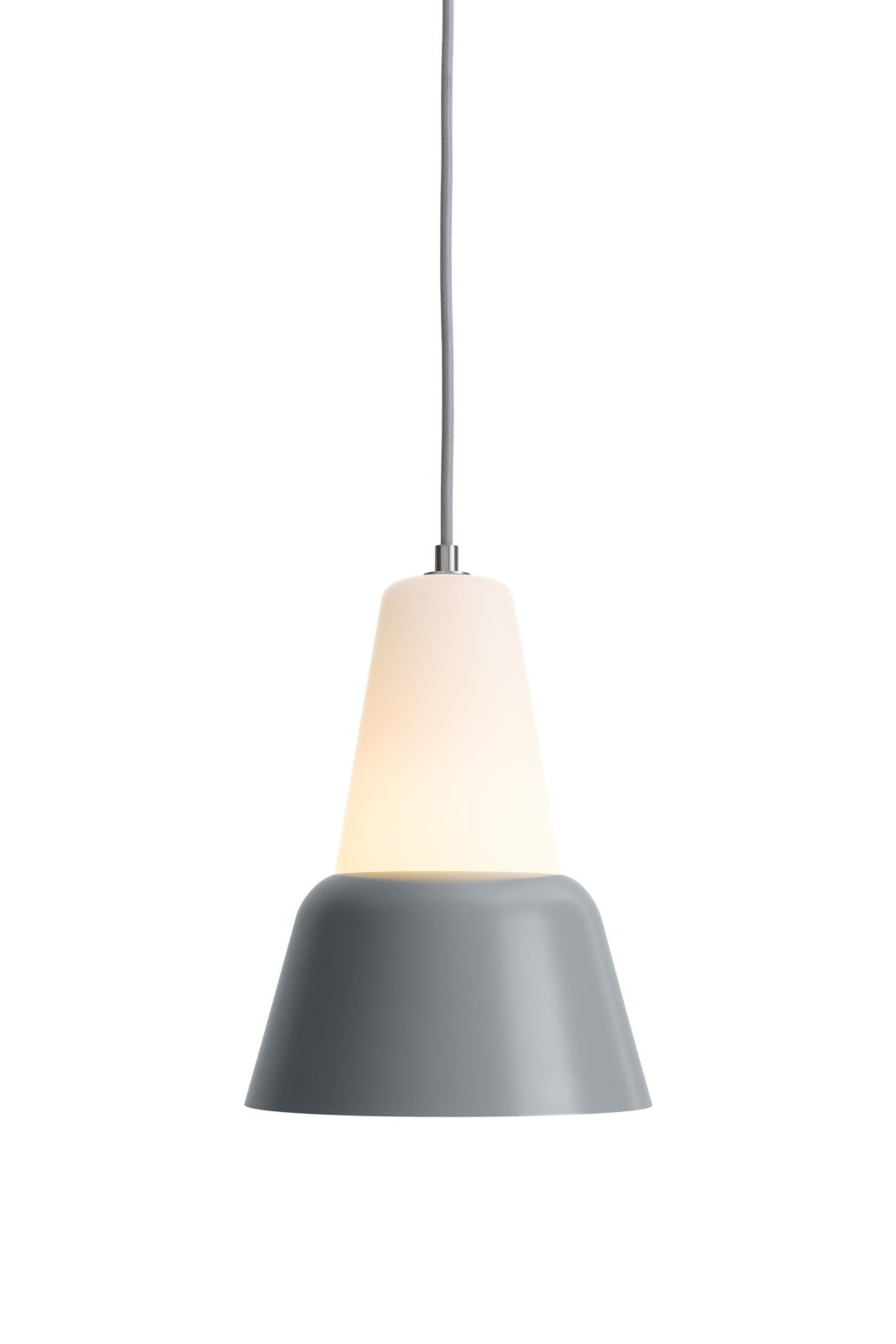 MODU Pendant Light Large Glass & Gray