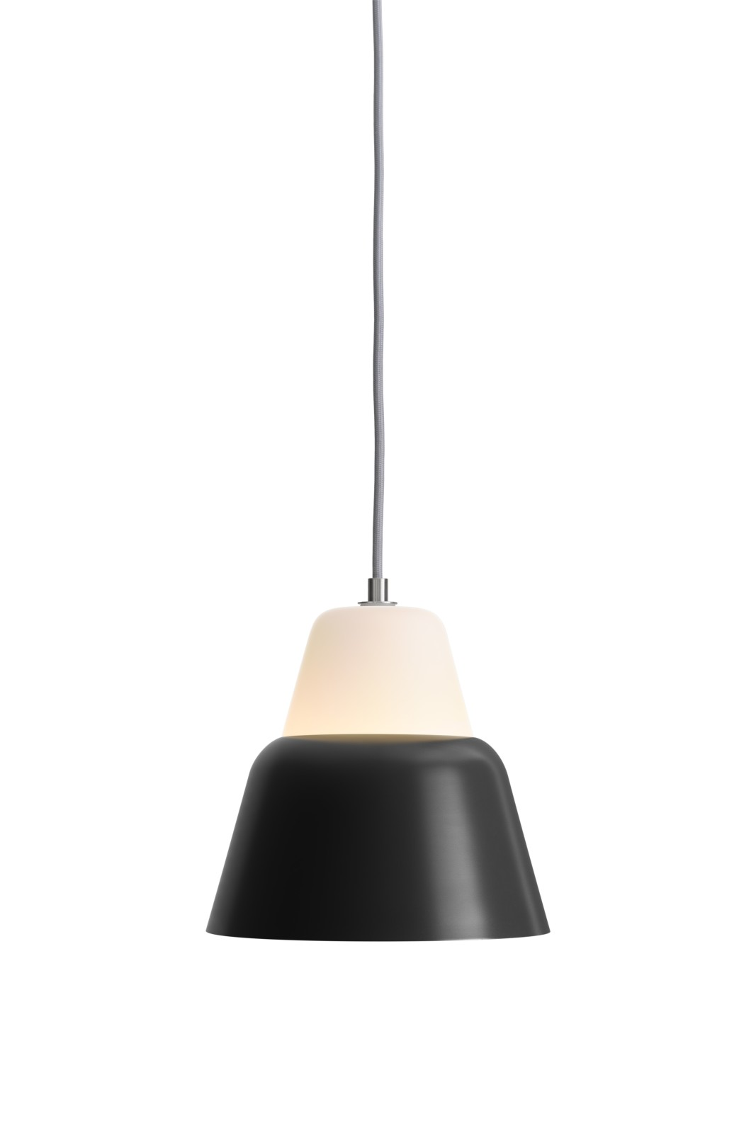 MODU Pendant Light Medium Glass & Black