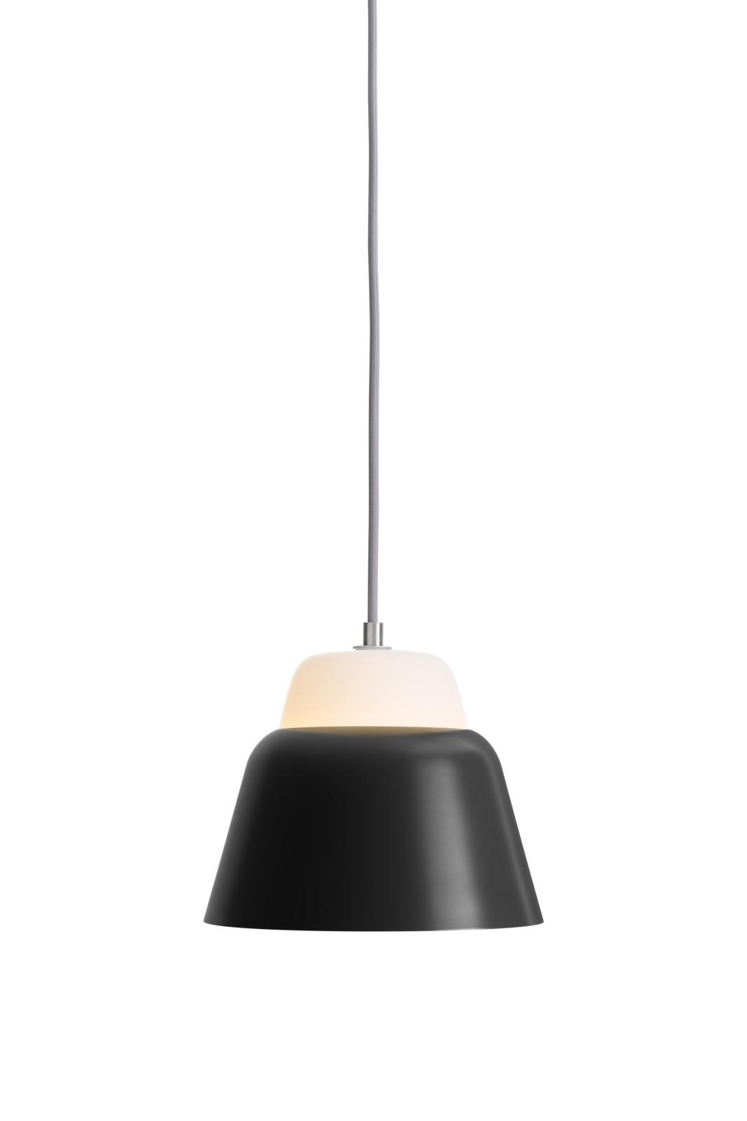 MODU Pendant Light Small Glass & Black