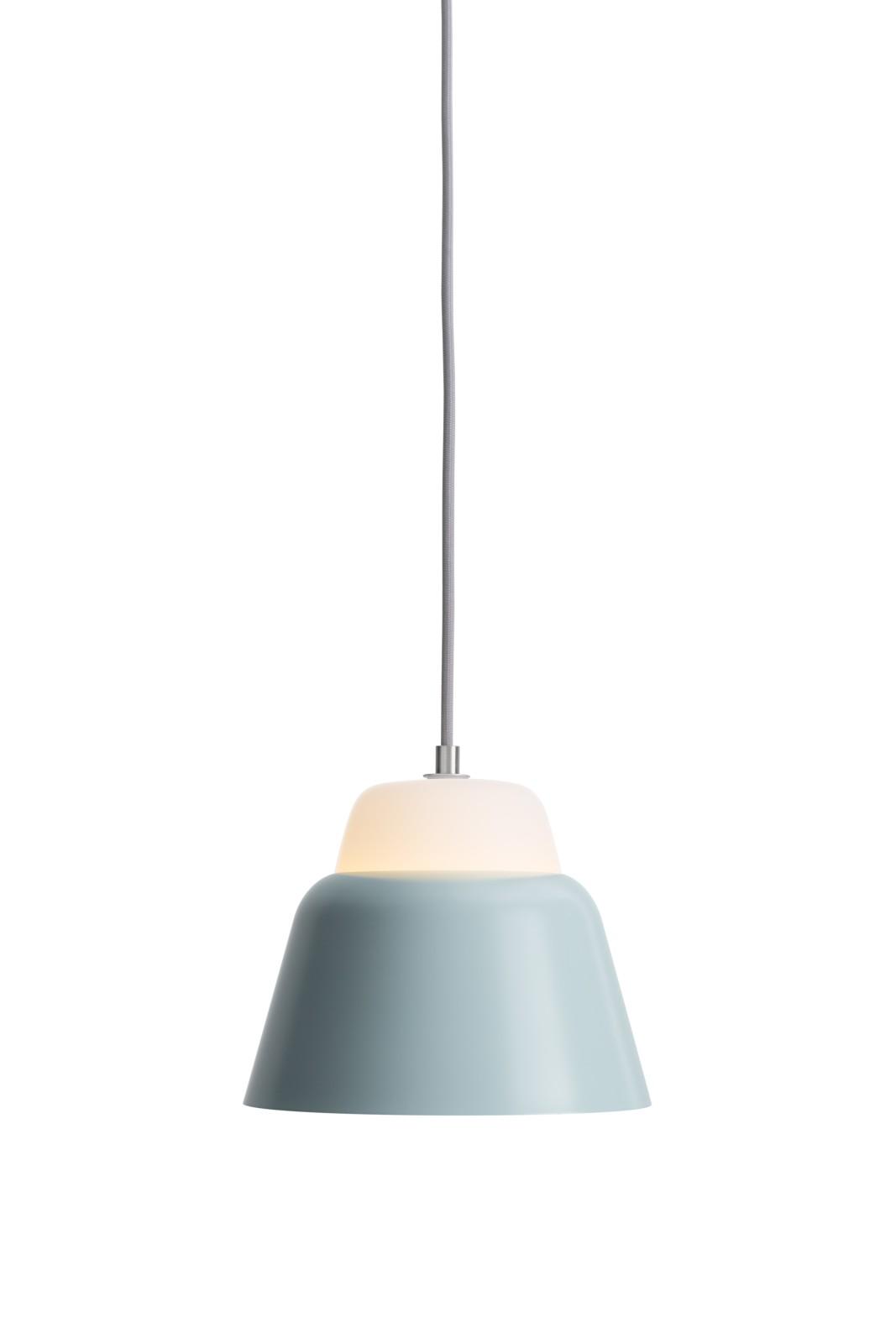 MODU Pendant Light Small Glass & Bluegray