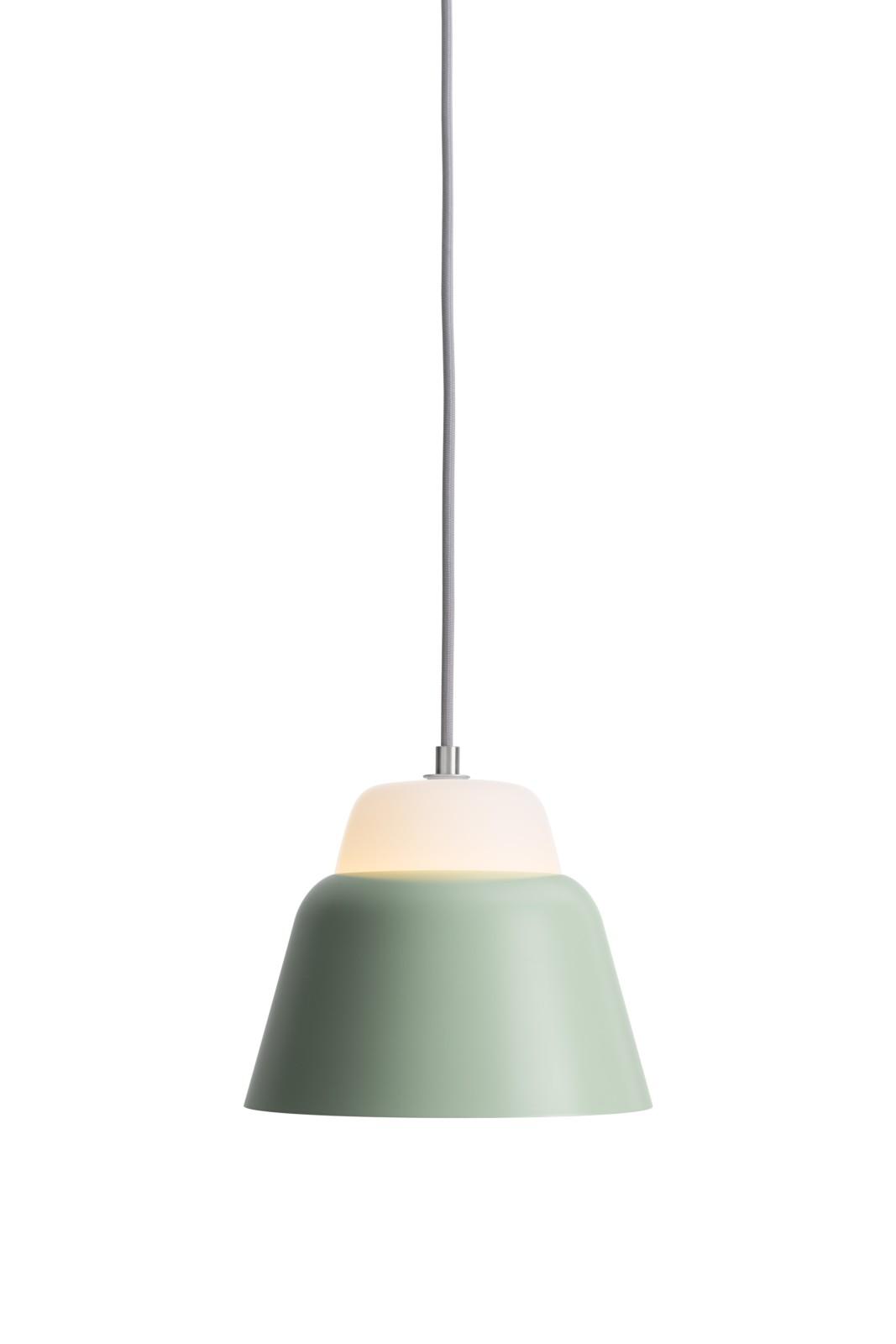 MODU Pendant Light Small Glass & Light Green