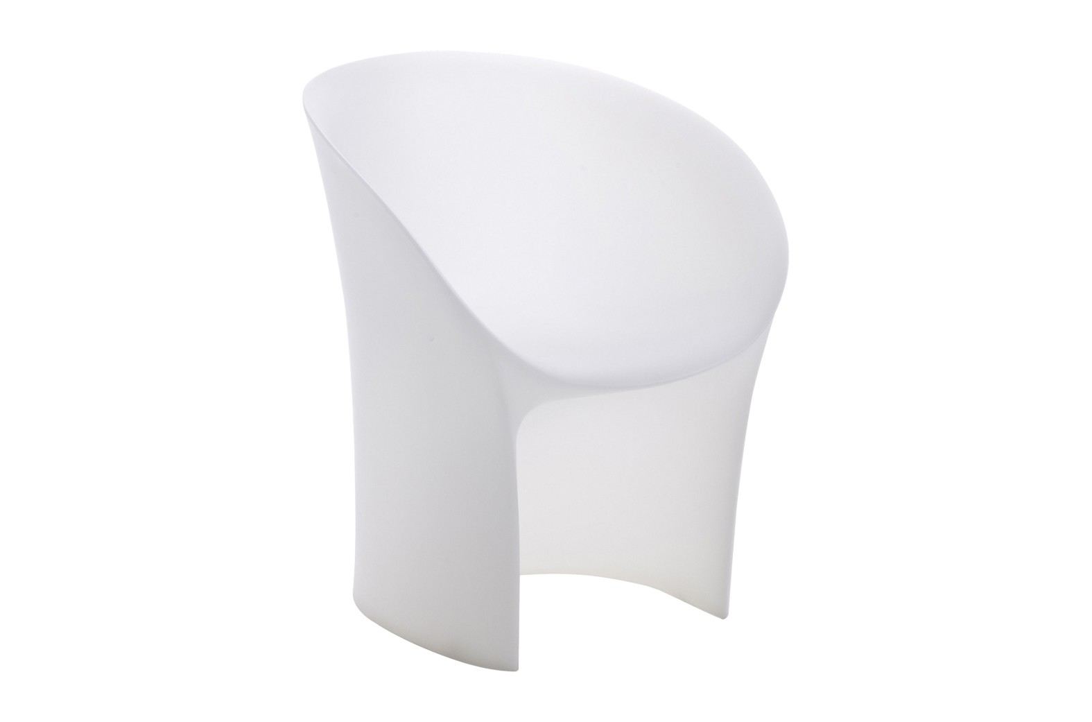 Moon Small Armchair Translucent White